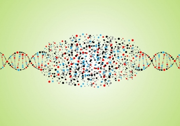 illustration of dna strand