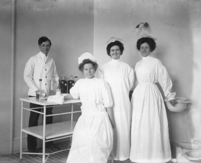Historical Image of UCSF Nurses, 1891
