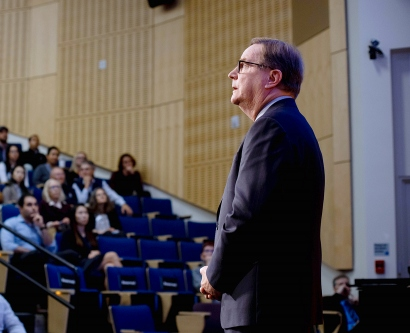 Sam Hawgood delivers his State of the University address