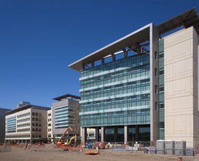 Construction at UCSF Medical Center in June