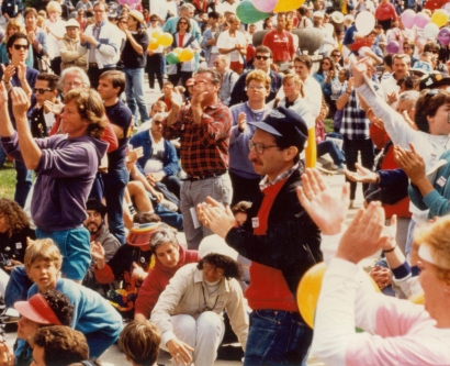 the first AIDS Walk San Francisco in 1987