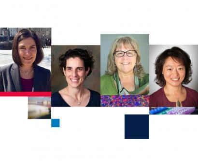 A photo collage shows Sheri Weiser, Jennifer Babik, Susan Kegeles and Janet Koo Shim