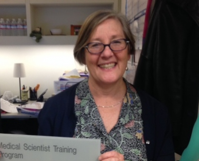 Photo of Geri Ehle, MSTP Coordinator in Pathology - Graduate Medical Sciences Unit