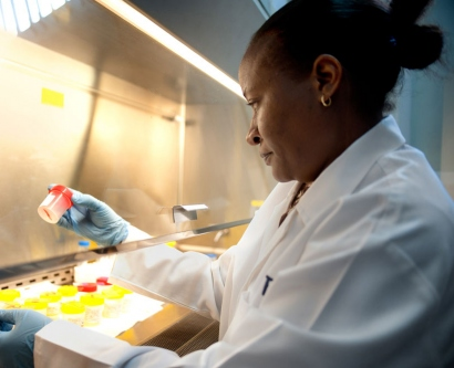 Olive Mbabazi works at the Infectious Diseases Institute in Kampala, Uganda