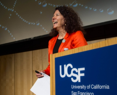 Kimberly Topp at the Last Lecture event