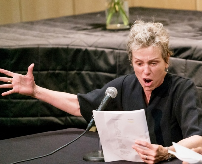 Frances McDormand reads scenes from Ajax