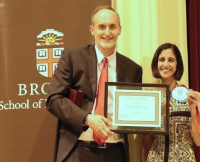 Tejal A. Desai received the 2015 Brown Engineering Alumni Medal (BEAM) from Brown University's School of Engineering