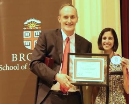 Tejal A. Desai received the 2015 Brown Engineering Alumni Medal (BEAM) from Brown University's School of Engineering