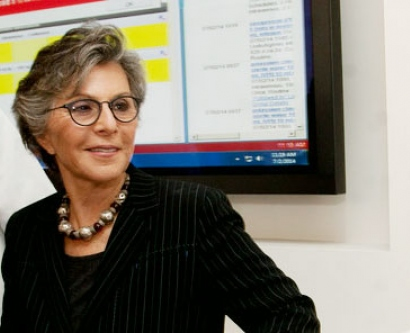 California Sen. Barbara Boxer at UCSF Medical Center on July 2