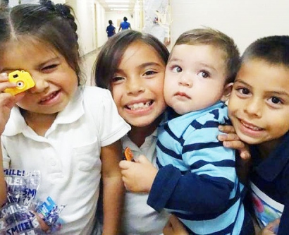 a group of children who participated in UCSF's CAN DO program
