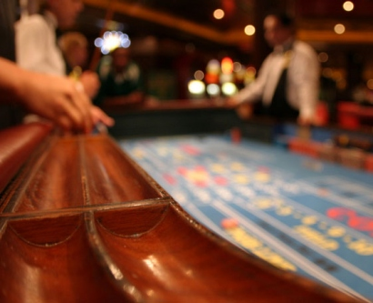 Stock image of casino