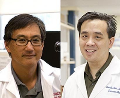 UC CAI award winners Stephen Nishimura and Charles Chiu
