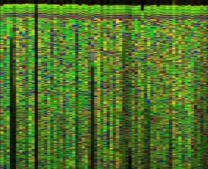 DNA sequencing output