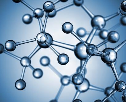 model of a drug molecule