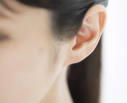 an image of a woman's ear