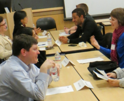 Graduate students and postdocs get career advice