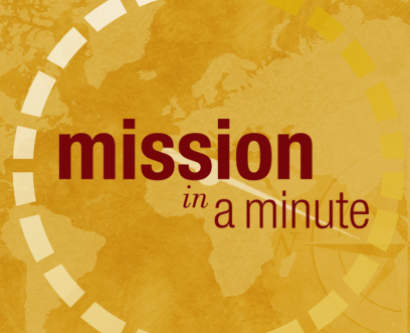 Misson an a Minute logo