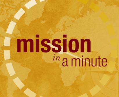 Misson an a Minute logo