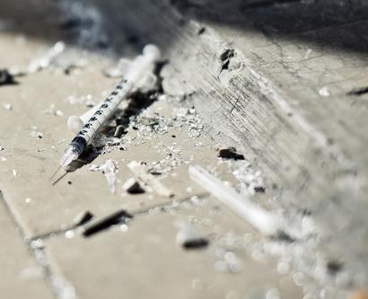 needle in a gutter