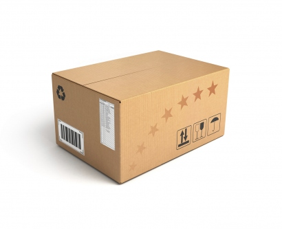 A stock image of a package
