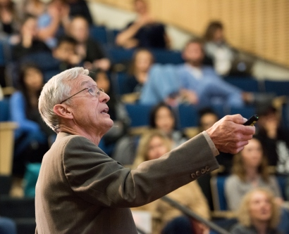 David Graham delivers 2018 Last Lecture