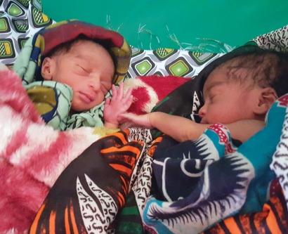 newborn babies in Malawi