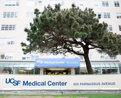entrance of UCSF Medical Center