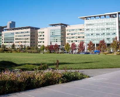 exterior of the UCSF Medical Center at Mission Bay