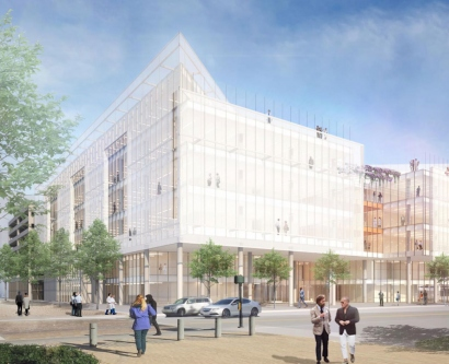 rendering of new Weill Neurosciences Building