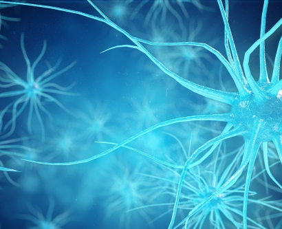 Glowing neuron cells