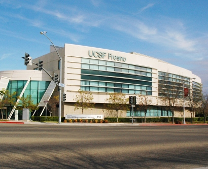 UCSF Fresno Center for Medical Education and Research building.