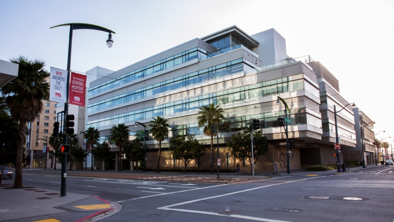 UCSF Helen Diller Family Comprehensive Cancer Center building.