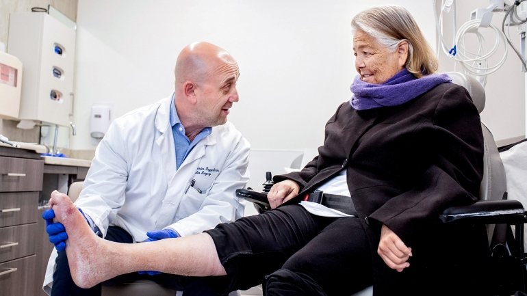0cea45183b Saving Limbs and Toes From the Grip of Diabetes With Clinic's New ...