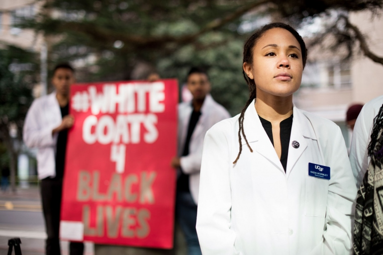 White Coats for Black Lives' Marks Anniversary by Urging Actions ...