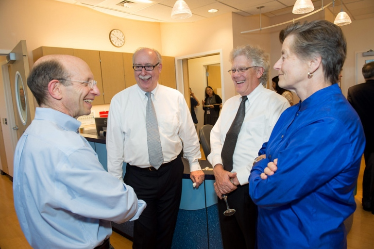 UCSF leaders gather at the grand opening of the Clinical Research Center