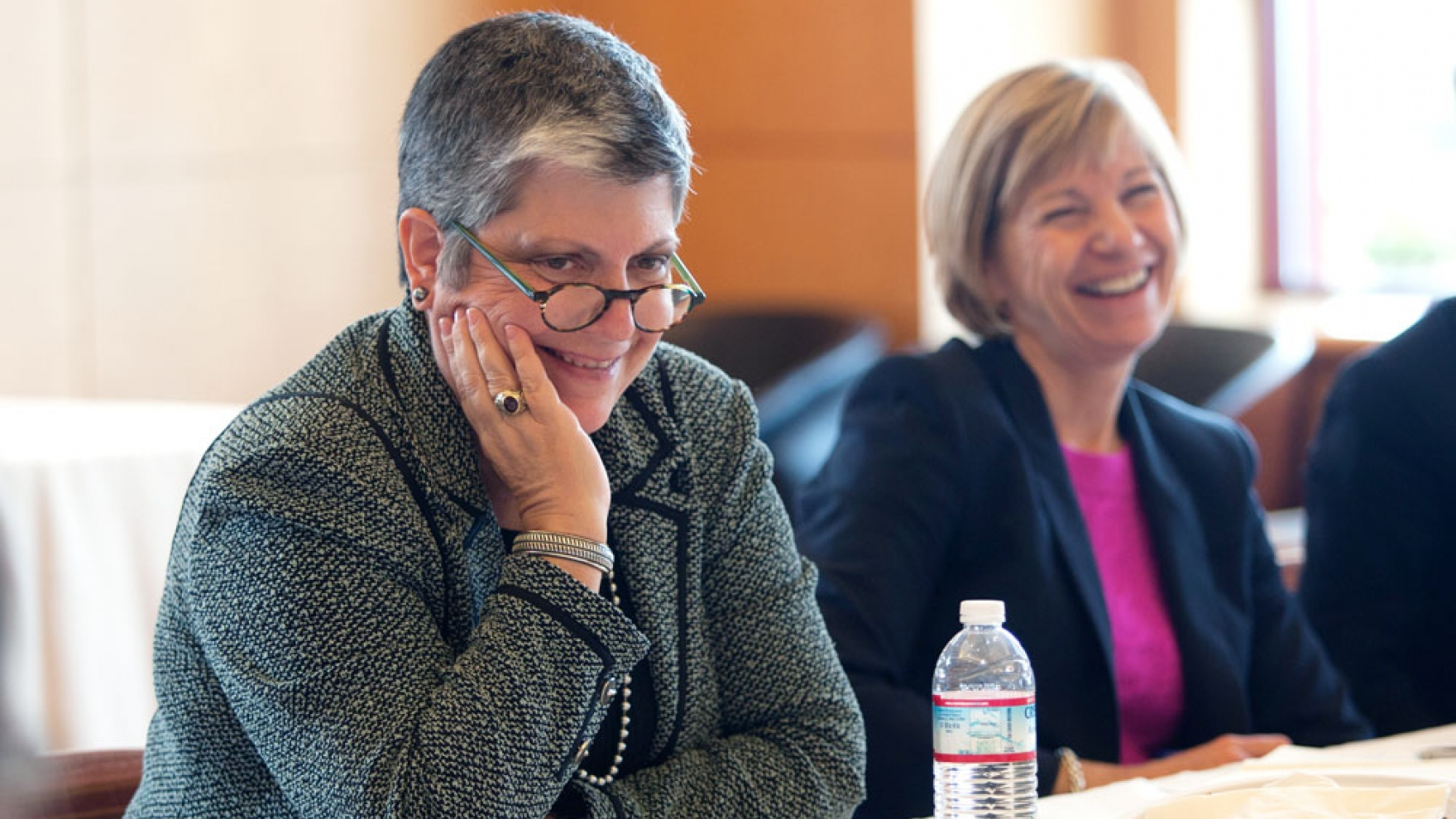 New UC President Visits UCSF to Listen and Learn