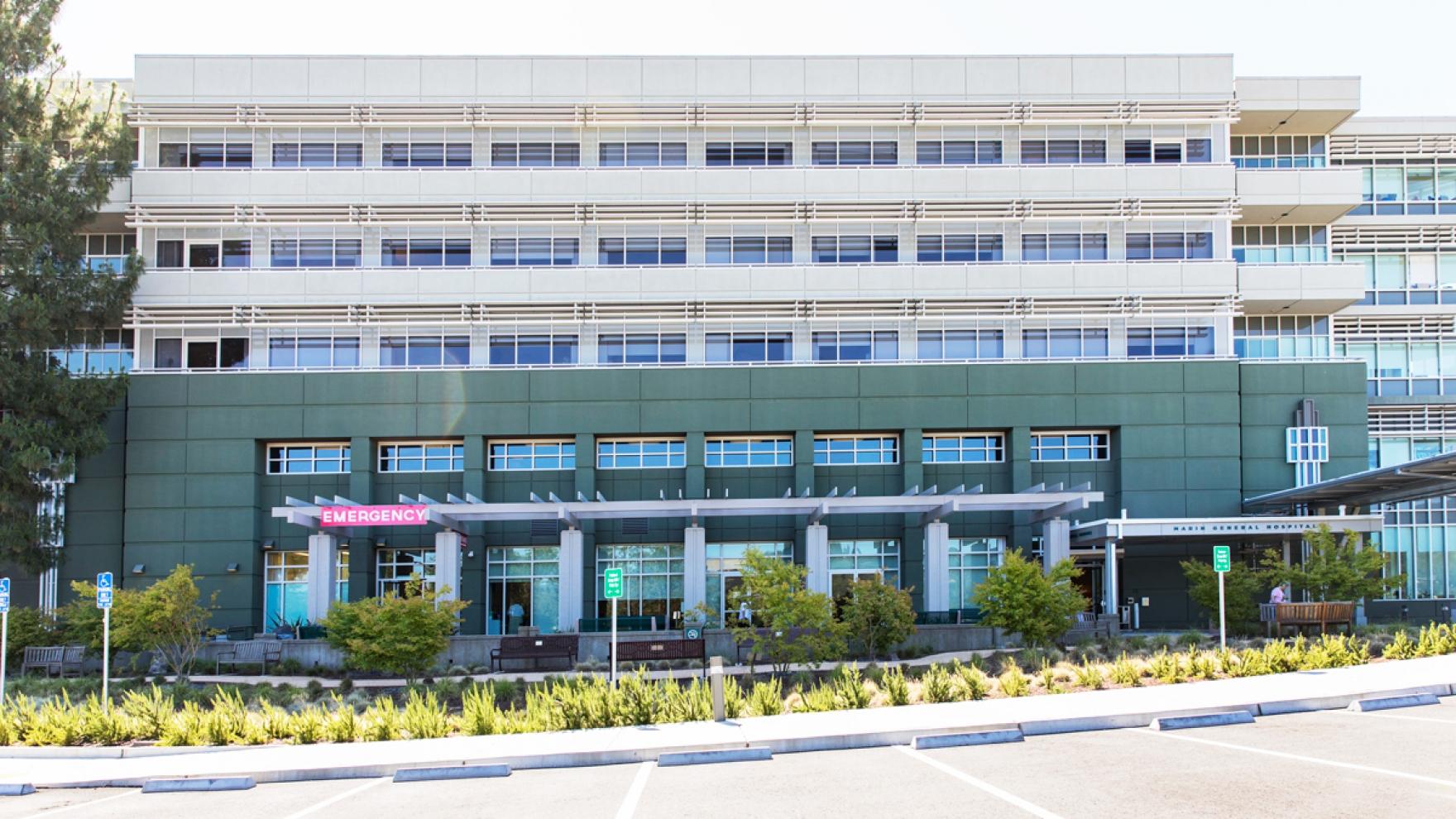 Marin General Hospital building.