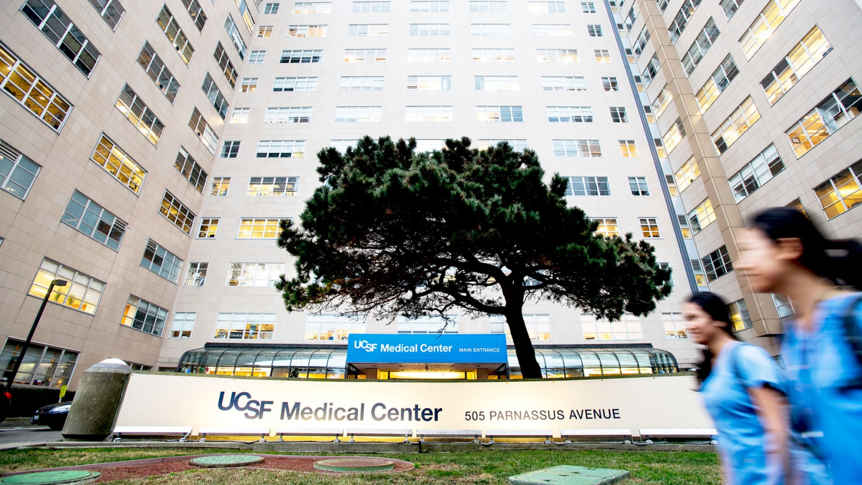 exterior of UCSF Medical Center at Parnassus Heights