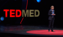 Chancellor Susan Desmond-Hellmann speaking at TEDMED