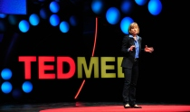 UCSF Chancellor Susan Desmond-Hellmann gives a talk at TEDMED in April 2013.