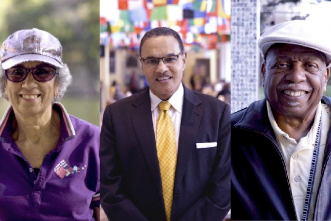 portraits of Afaf Meleis, Freeman Hrabowski and John Watson