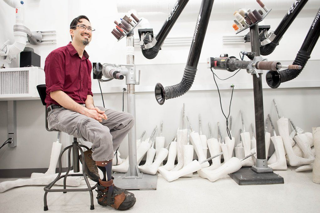 Joshua Unterman, Department of Orthotics and Prosthetics
