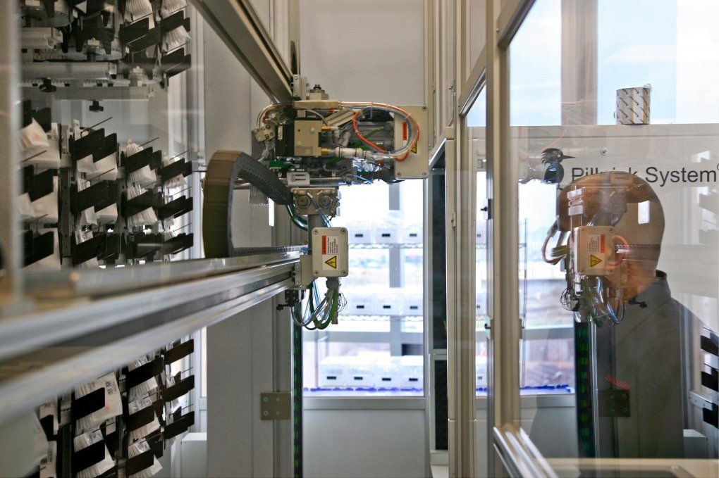 New UCSF Robotic Pharmacy Aims to Improve Patient Safety