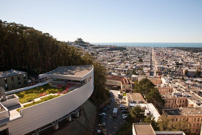 the institute for regenerative medicine sitting above San Francisco