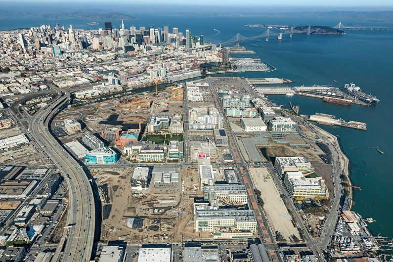 Mission Bay aerial