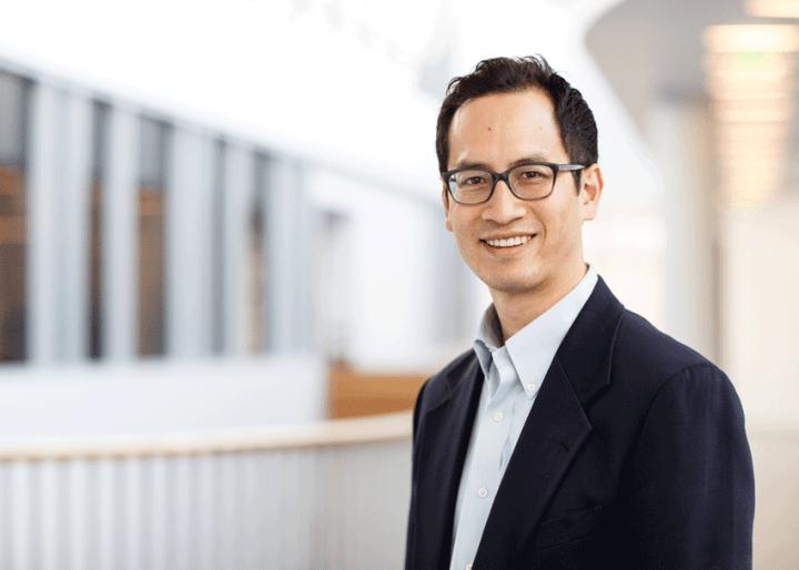 Edward Chang smiling.