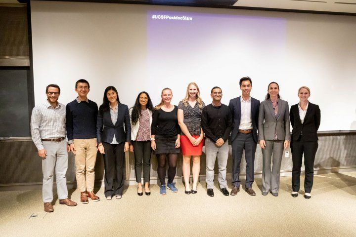 Finalists in Postdoc Slam 2019