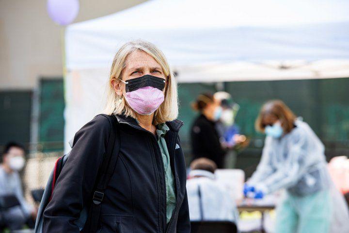 Diane Havlir in SF's Mission District