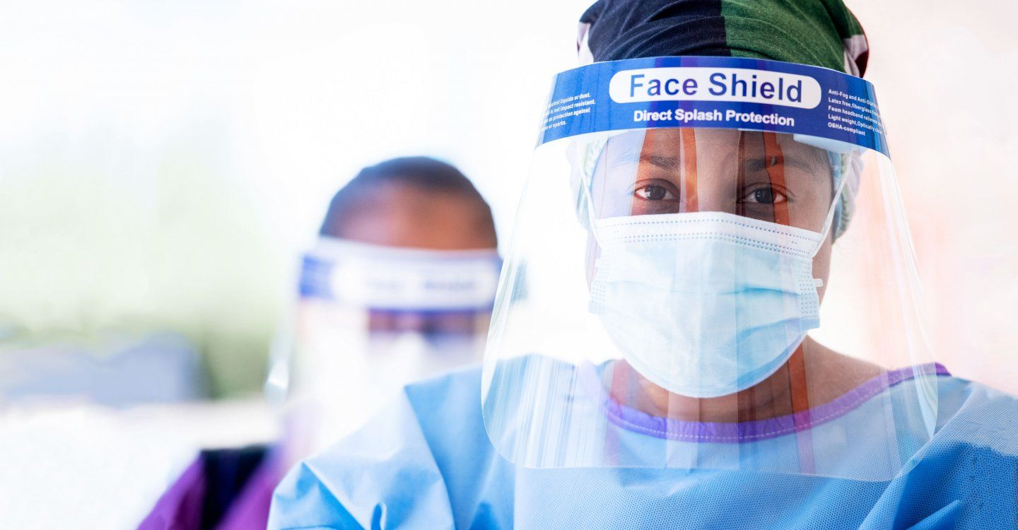 Dr. Archna Eniasivam in PPE