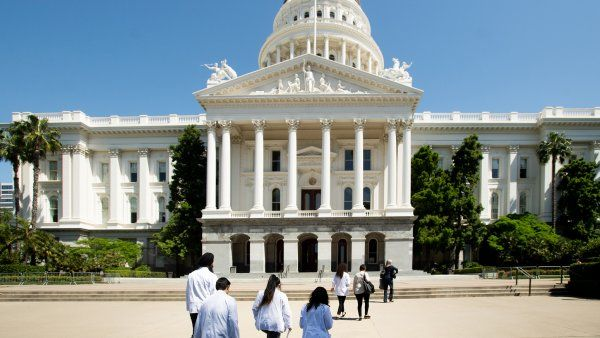 UCSF medical students head into the state capitol